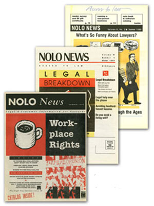 Our history nolo past editions of the nolo news solutioingenieria Image collections