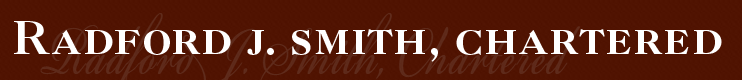 Radford J. Smith, Chartered