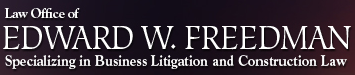 Law Office of Edward W. Freedman