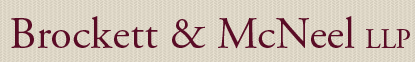 Brockett & McNeel LLP