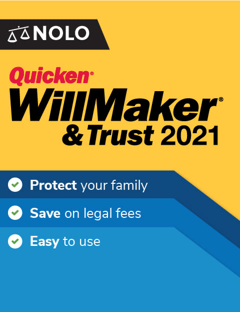 Nolo\'s Quicken WillMaker & Trust 2021