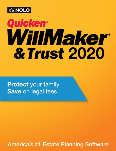 Quicken Willmaker & Trust 2020 - Nolo