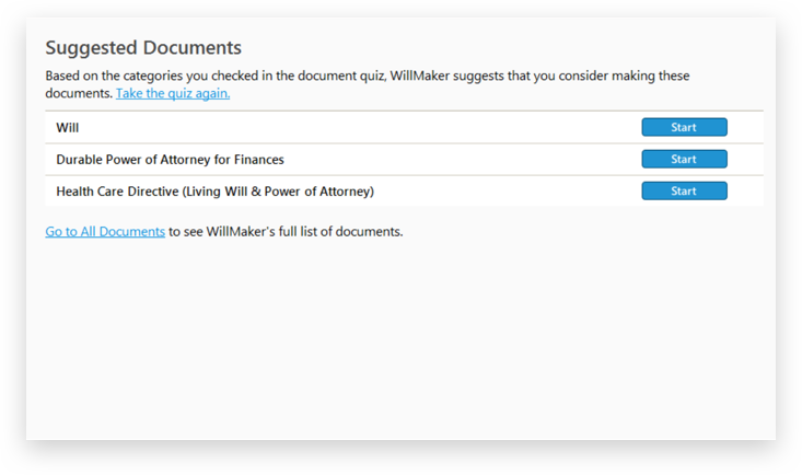 Suggested Documents