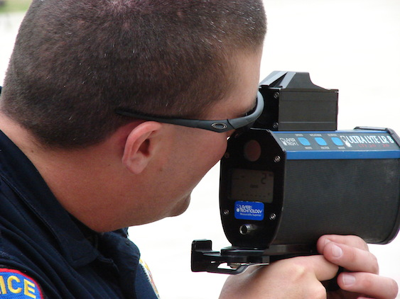 Fighting a Speeding Ticket: Police Laser Gun Accuracy and Maintenance