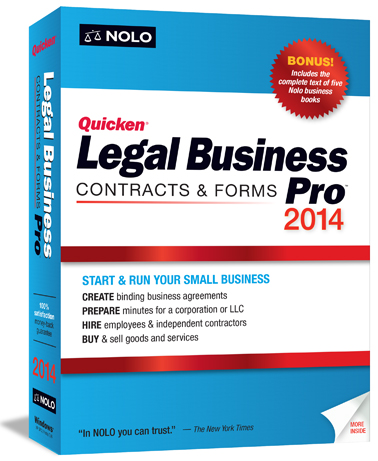 Quicken Legal Business Pro 2014 | Nolo