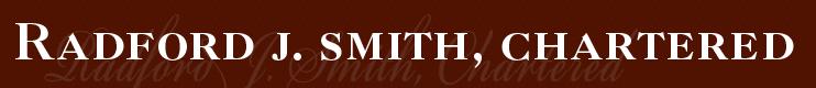 Radford J. Smith, Chartered