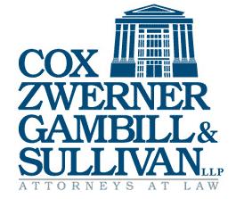 Cox, Zwerner, Gambill & Sullivan, LLP