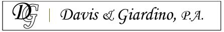 Davis & Giardino, P.A.
