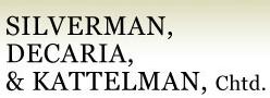 Silverman, Decaria & Kattelman Chartered
