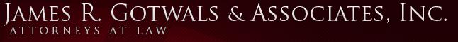 James R. Gotwals and Associates, Inc. A Professional Corporation