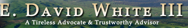 E. David White III Law Office
