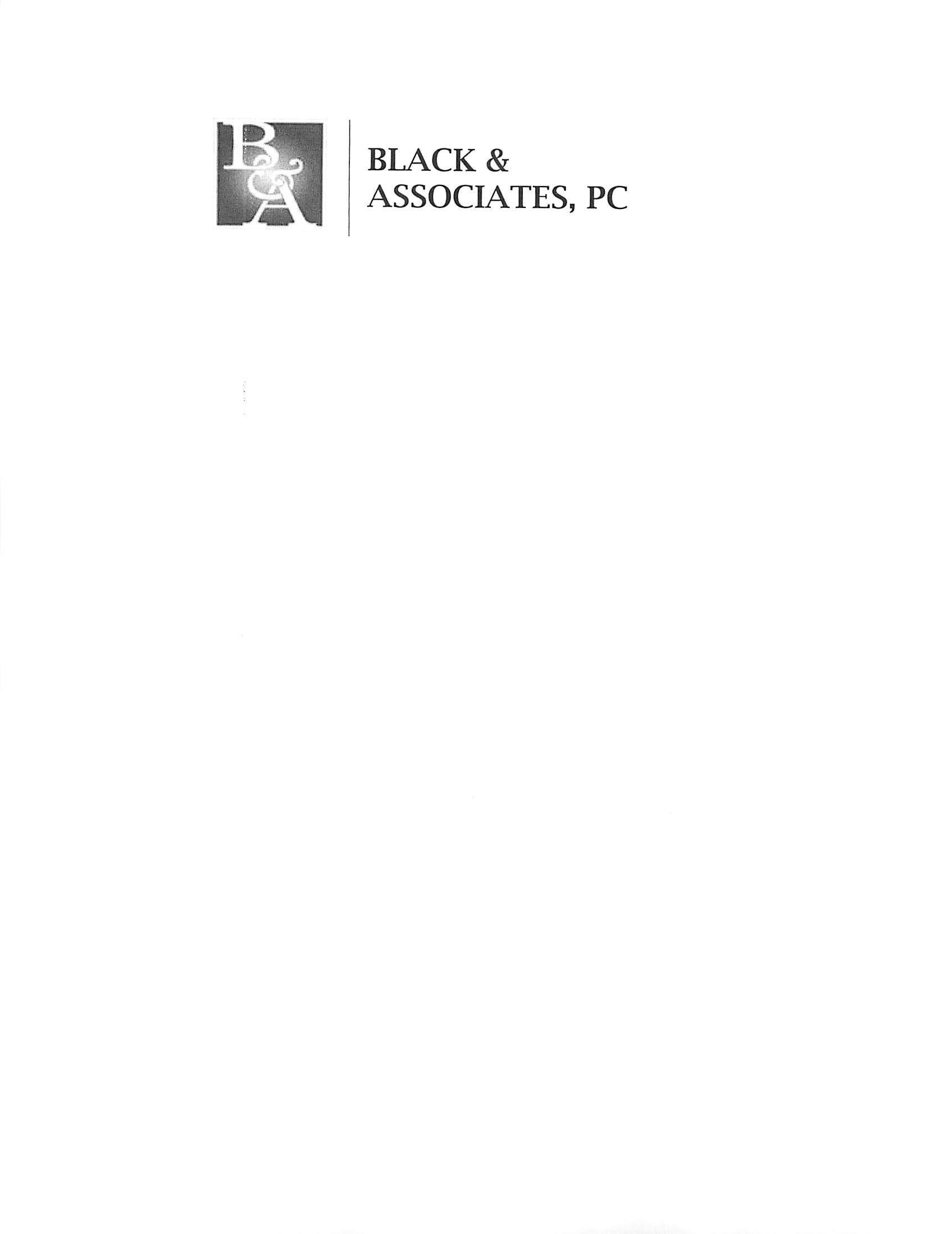 Black and Associates, P.C.