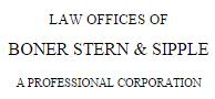 Boner, Stern & Sipple A Professional Corporation