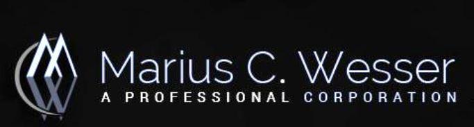Marius C. Wesser A Professional Corporation