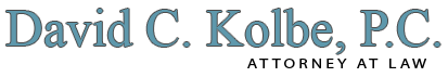 David C. Kolbe P.C. Attorney at Law