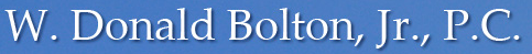 W. Donald Bolton, Jr., P.C.