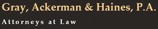 Gray, Ackerman & Haines, P.A