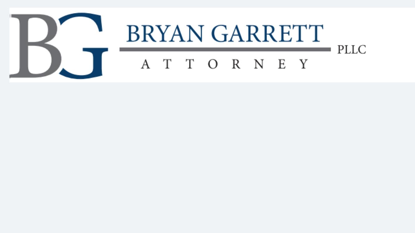 BRYAN GARRETT, PLLC