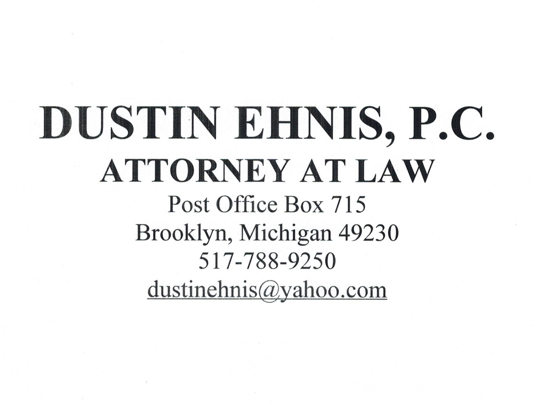 Dustin Ehnis, P.C.