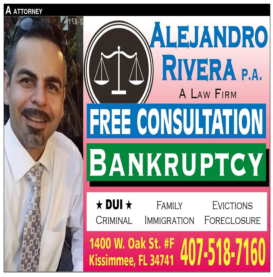 ALEJANDRO RIVERA  P.A.