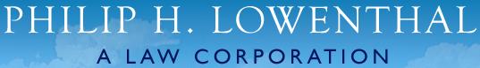Philip H. Lowenthal A Law Corporation