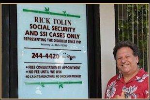 Rick Tolin, Attorney, Kokua Disability