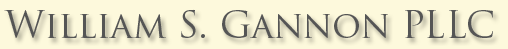 William S. Gannon PLLC - Specializing in Large Chapter 11 Restructuring of Businesses