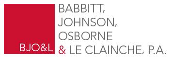 Babbitt Johnson Osborne & Le Clainche, P.A.
