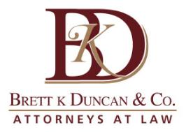 Brett K. Duncan & Co., Attorneys at Law