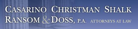 Casarino Christman Shalk Ransom & Doss, P.A.