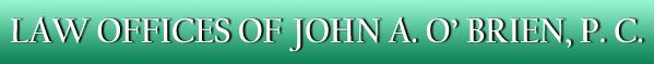 Law Office of John A. O'Brien