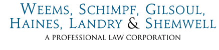 Weems, Schimpf, Haines, Landry, Shemwell & Moore (APLC)